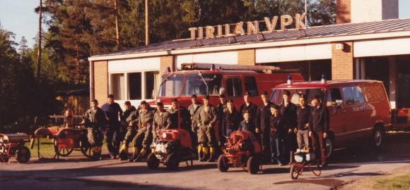 Kalusto ja jäsenistö 1979