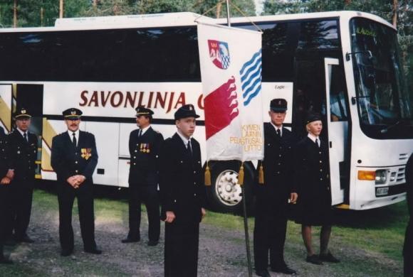 Palokuntanuorten leiri 1997