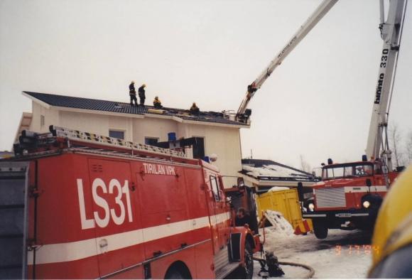 Rakennuspalohälytys 2004